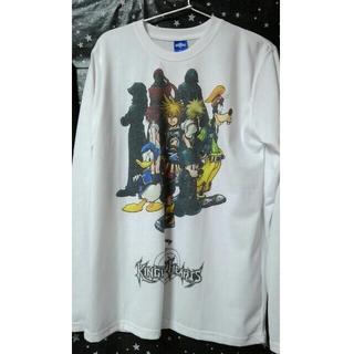 ディズニー(Disney)のKHⅡオリジナルTシャツ(白)(Tシャツ/カットソー(七分/長袖))