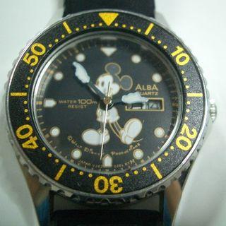 アルバ(ALBA)のレディース用 ALBA ミッキーマウス ダイバーズウォッチ(腕時計)