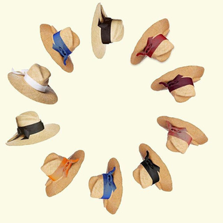 ドゥーズィエムクラス(DEUXIEME CLASSE)のsale!新品 タグ付き lola hats ローラハット 麦わら帽子(ハット)
