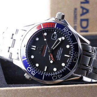 オメガ(OMEGA)の OMEGA  自動巻き メンズ腕時計  NOOB 黑文字盤 (腕時計(アナログ))