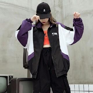 秋物ストリート 系 ユニセックス スケボー ジャケット(ミリタリージャケット)