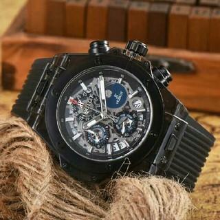 ウブロ(HUBLOT)の腕時計 ウブロ 未使用品 HUBLOT  自動巻き  メンズ腕時計(腕時計(アナログ))