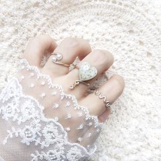 指輪 セット 【J】ワイヤーリング