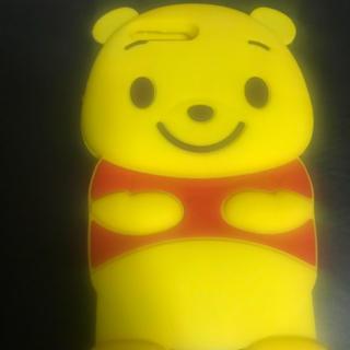 ディズニー(Disney)のプーさんiPhoneケース(iPhoneケース)