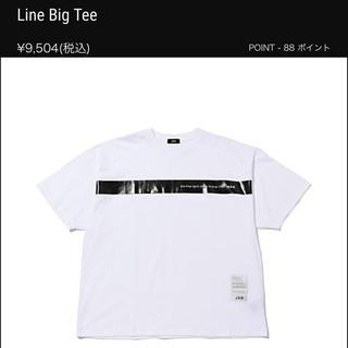 トゥエンティーフォーカラッツ(24karats)の新品 JSB Line Big Tee Tシャツ(Tシャツ(半袖/袖なし))