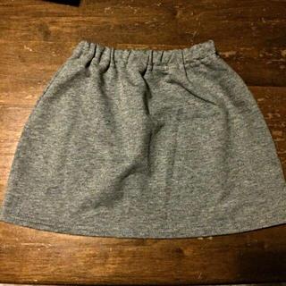 ムジルシリョウヒン(MUJI (無印良品))の無印良品 キッズ スカート 100(その他)