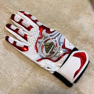 アディダス(adidas)のadidasバッティング手袋(手袋)