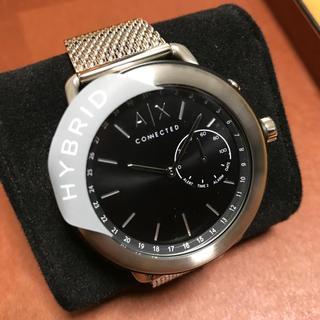 アルマーニエクスチェンジ ハイブリッドスマートウォッチ 腕時計