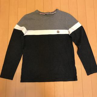モンクレール(MONCLER)のモンクレーボーダー長袖Tシャツ(Tシャツ(長袖/七分))