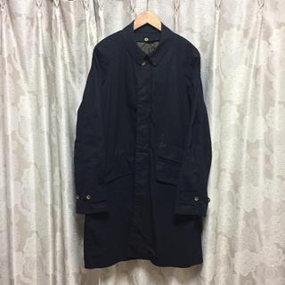 カトー(KATO`)のKATO` カトー コットン ライナー付き ステンカラーコート M ブラック(ステンカラーコート)