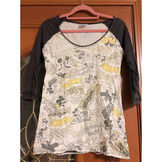ディズニー(Disney)の七分袖ミッキー♡(Tシャツ(長袖/七分))