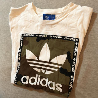 アディダス(adidas)のadidas Tシャツ Lサイズ(Tシャツ(半袖/袖なし))