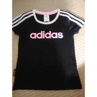 アディダス(adidas)のアディダス 130 Tシャツ 美品(Tシャツ/カットソー)