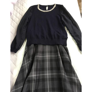 INGNI ニット& GU スカート セット