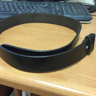 オクトパスアーミー(OCTOPUS ARMY)のOCT専用OPUSARMY(オクトパスアーミー)革ベルト 黒 76cm~86cm(ベルト)