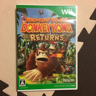 ウィー(Wii)のwii DONKEY KONG RETURNS(家庭用ゲームソフト)