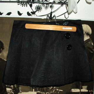 セシルマクビー(CECIL McBEE)のセシルマクビー黒キュロットスカート(キュロット)