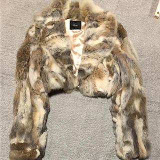 チュー(CHU XXX)のコート(ショート丈) chuxxx(毛皮/ファーコート)