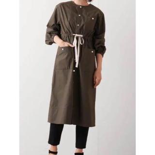 yori  サファリロングジャケット コート(ミリタリージャケット)