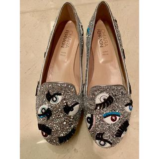 キアラフェラーニ(Chiara Ferragni)の新品。早いものがち値下げ。キアラ フェラーニ。靴。フラットシューズ。(バレエシューズ)