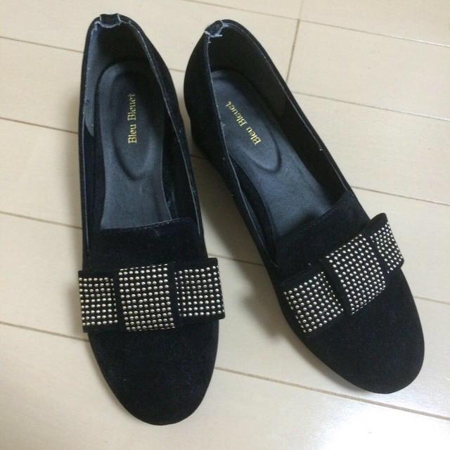 Bleu Bleuet(ブルーブルーエ)のBleu Bleuet リボンパンプス レディースの靴/シューズ(ハイヒール/パンプス)の商品写真