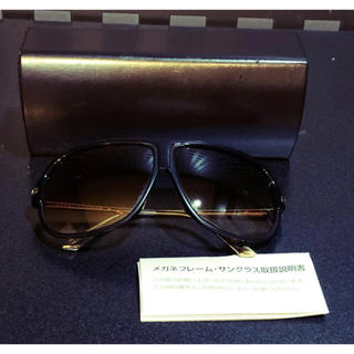 ディータ(DITA)の美品ditaサングラス眼鏡フレームTARGAグラデーション黒GOLDブラック(サングラス/メガネ)