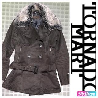 トルネードマートファム(TORNADO MART FEMME)のトルネードマート 2WAY コート(毛皮/ファーコート)