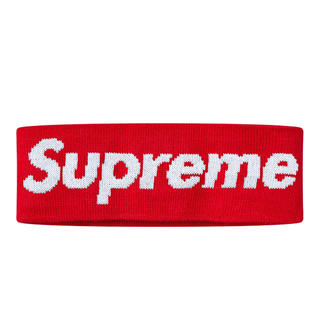 シュプリーム(Supreme)のSupreme New Era® Big Logo Headband(ヘアバンド)