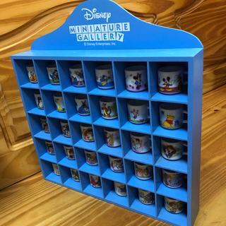 ディズニー(Disney)の ディズニーミニチュアギャラリー ラック付 ミニチュアマグカップ(ミニチュア)