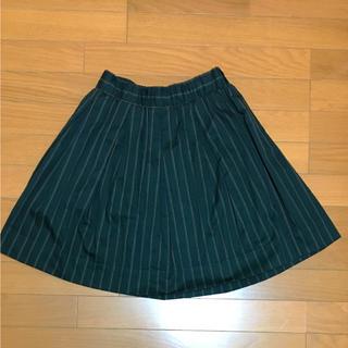 バビロン(BABYLONE)のバビロン☆ストライプ柄スカート(ひざ丈スカート)
