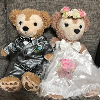 ダッフィー(ダッフィー)のダッフィー&シェリーメィ コスチューム 結婚式(キャラクターグッズ)