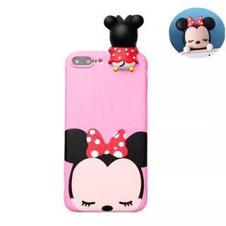 ディズニー(Disney)のミニーちゃん3D/iPhone6.6s/7/8シリコンケース(iPhoneケース)