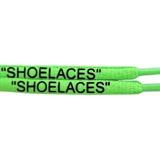 オフホワイト(OFF-WHITE)のveve様専用 緑 Rope Lace Supply SHOELACES(その他)