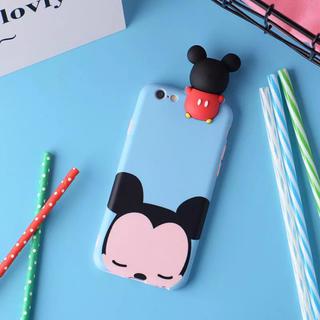 ディズニー(Disney)のミッキー3D/iPhone6.6s/7/8シリコンケース(iPhoneケース)