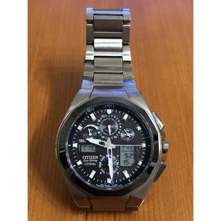 シチズン(CITIZEN)のシチズン アテッサ ATV53-2833 ジェットセッター(腕時計(アナログ))