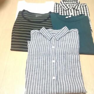MUJI (無印良品) - 無印良品 & UNIQLO  Tシャツ & シャツ