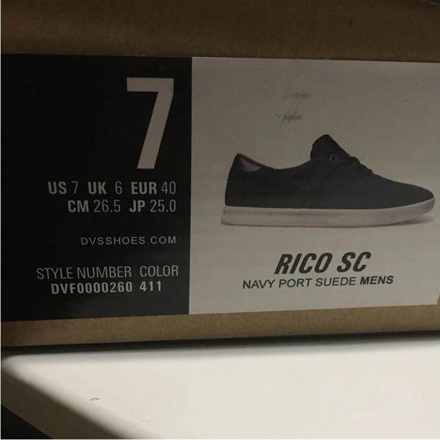 DVS(ディーブイエス)のDVS  RICO SC メンズの靴/シューズ(スニーカー)の商品写真
