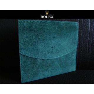 ロレックス(ROLEX)のROLEX ロレックス 時計用ケース×時計の布団代わりの物 袋 保存袋 深緑色(その他)
