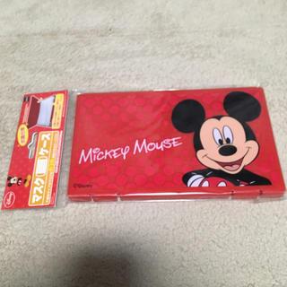 ディズニー(Disney)の新品未使用品🐾ミッキーマウス🌺マスクケース(日用品/生活雑貨)