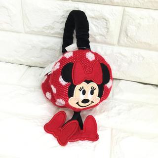Disney - 【 kids フリー】  ミニー ミニーちゃん イヤーマフラー 耳あて 防寒