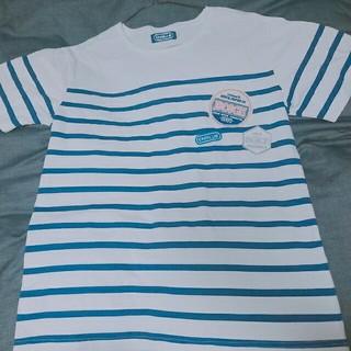 シーエヌブルー(CNBLUE)の【 値下げ 】CNBLUE ボーダーTシャツ (Lサイズ)(アイドルグッズ)