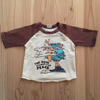 ジーンズベー(jeans-b)のJEANS-b ジーンズベー 7分袖Tシャツ 80cm 男の子(Tシャツ)