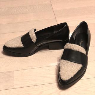 スリーワンフィリップリム(3.1 Phillip Lim)の3.1 phillip lim 14AW quinn loafer ラムファー(ローファー/革靴)
