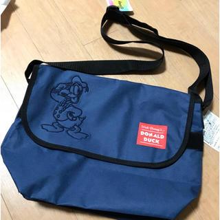 ディズニー(Disney)のドナルドダック 新品 メッセンジャー バッグ 肩掛け ディズニー ドナルド(メッセンジャーバッグ)
