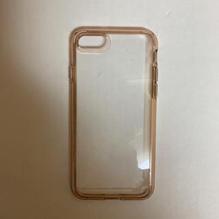 シュピゲン(Spigen)のspigen iPhone8/iPhone7  ローズ・クリスタル(iPhoneケース)