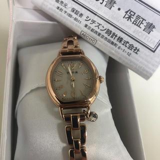 シチズン(CITIZEN)のwicca チャーム付き腕時計(腕時計)