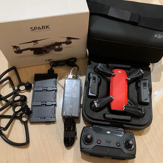 DJI spark AIR  赤 FLY MORE COMBO