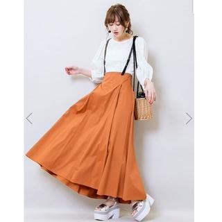 ココディール(COCO DEAL)の後ろレースアップサスペンダー付きスカート♡(ロングスカート)