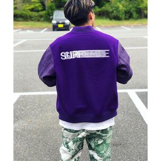 シュプリーム(Supreme)の最安【 Supreme 】Motion Logo Varsity Jacket(スタジャン)
