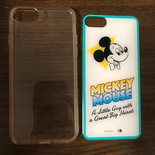 ディズニー(Disney)のiPhone8 ソフトケース ミッキー(iPhoneケース)